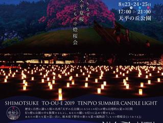 8/23,24,25★しもつけ燈桜会(とうおうえ)