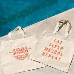 Custom totes for a bachelorette party. ?