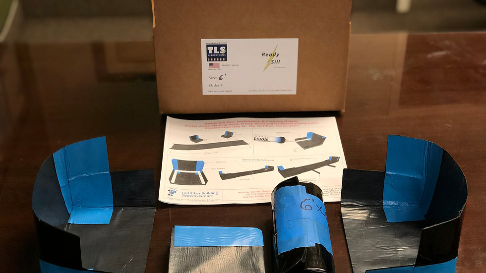 READY SILL™ DOOR PAN - 6 FOOT - Free Shipping!