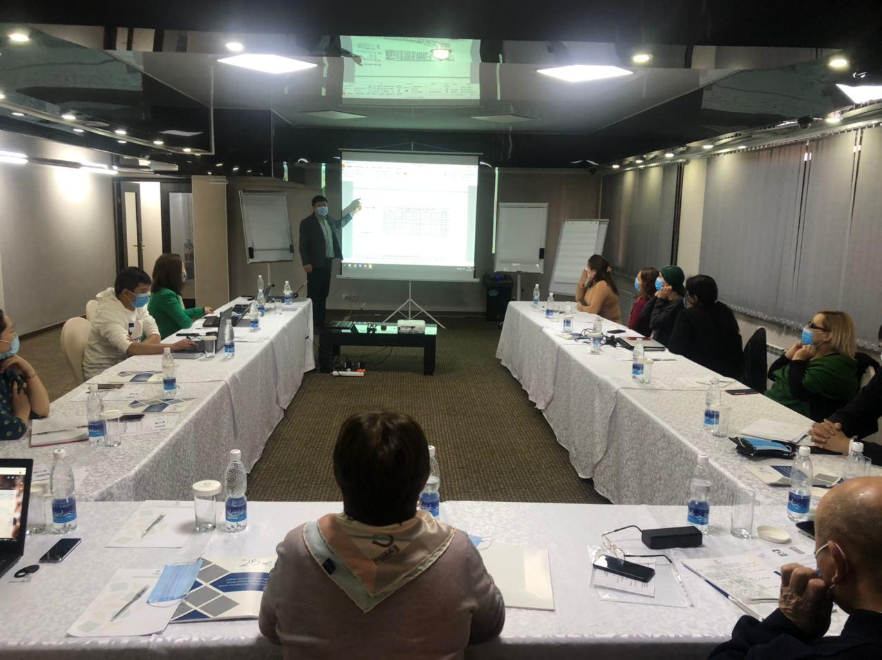 Training in Bishkek_work process