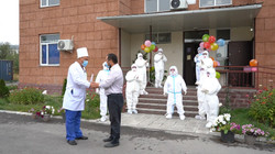 Закрытие COVID-отделения в НЦФ