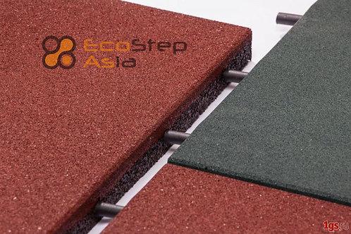 Резиновая плитка EcoStep-Asia Standart 500х500