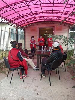 Встреча с  пациентами с туберкулезом и членами их семьей.