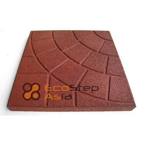 Резиновая плитка EcoStep-Asia  350х350