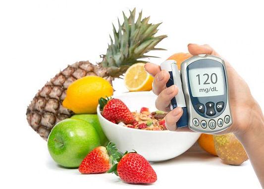 diabetes frutas