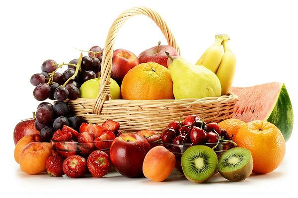 quantidade de frutas
