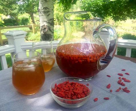 suco fruta goji berry