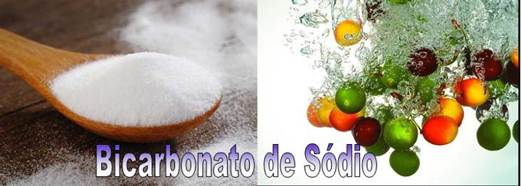 Bicarbonato de sodio frutas