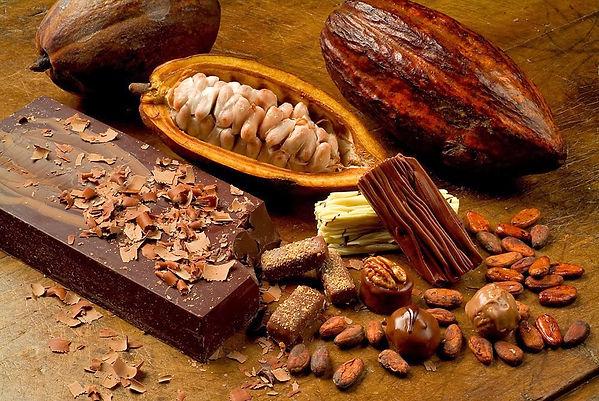 fruta chocolate