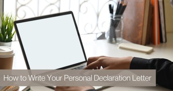 How to Write Your Personal Declaration Letter for VAWA Self-Petition