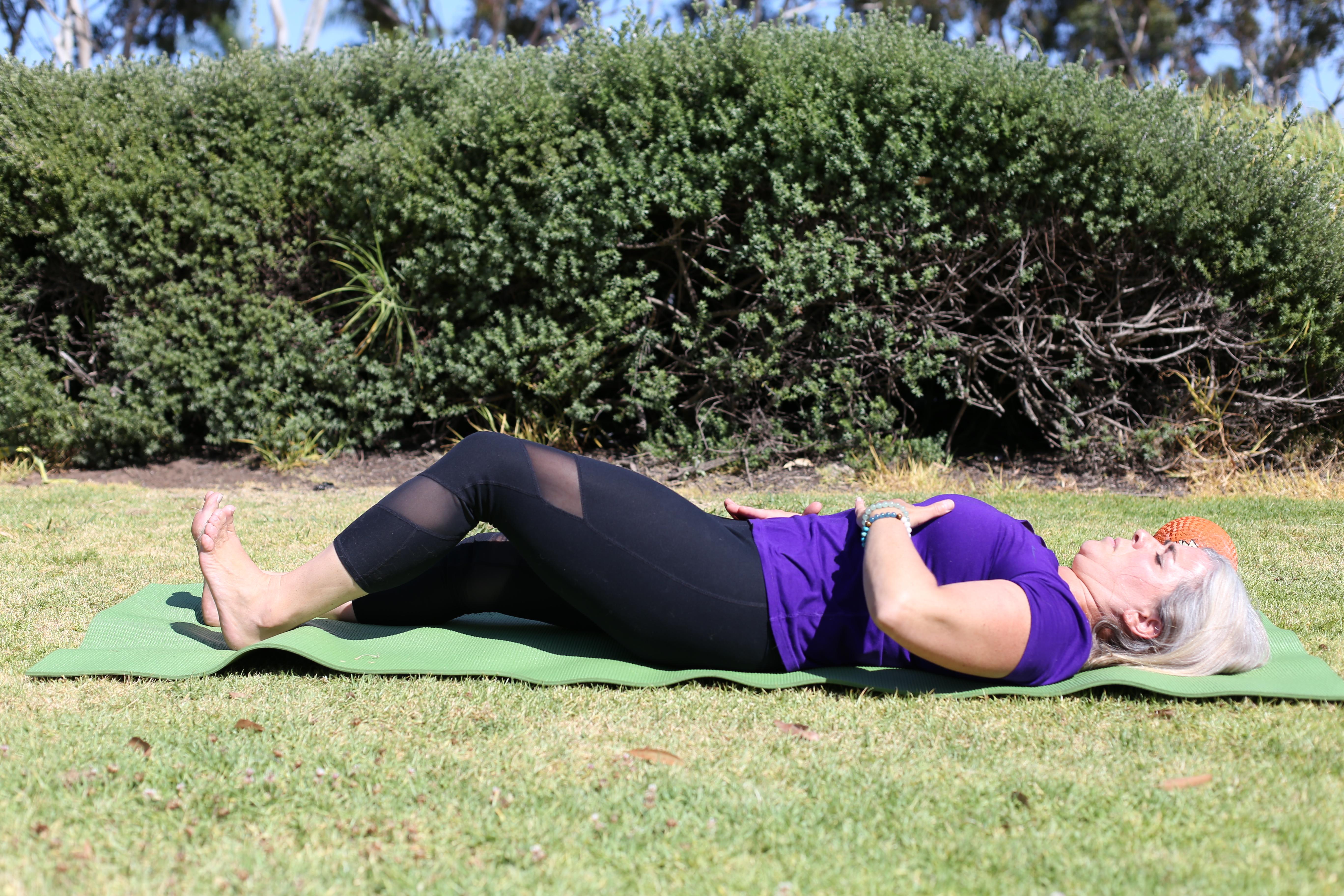 Kim K Pilates Shows Foundation Training