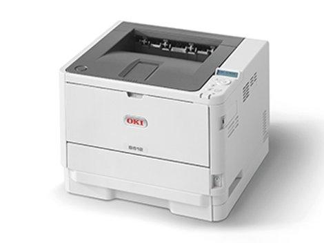 OKI B512dn A4 Duplex Mono Printers (45762026)