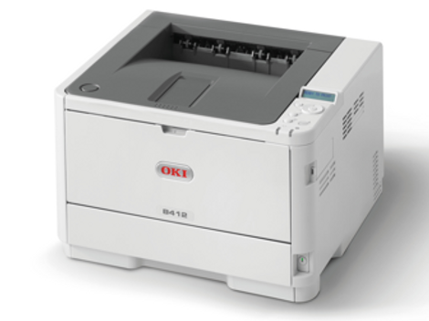 OKI B412dn A4 Duplex Mono Printer (45762003)