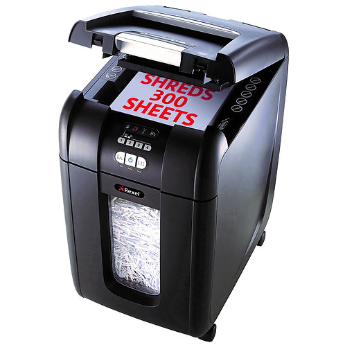 Rexel  Stack & Shred Auto+ 300X Office shredder 2103250AU