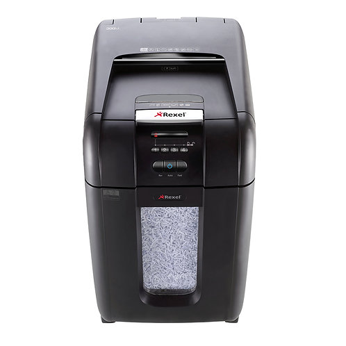 Rexel Stack & Shred Auto+ 300M Office Shredder