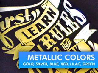 Flex Soft (Metallic Colours) Self Weeding