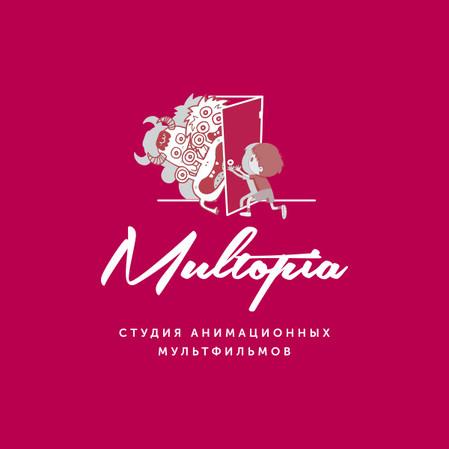 Логотип для студии анимационных мультфильмов