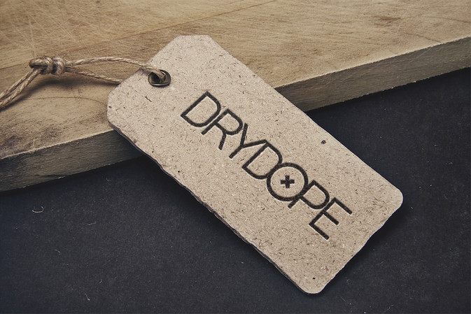 Логотип для производителя дождевиков Drydope