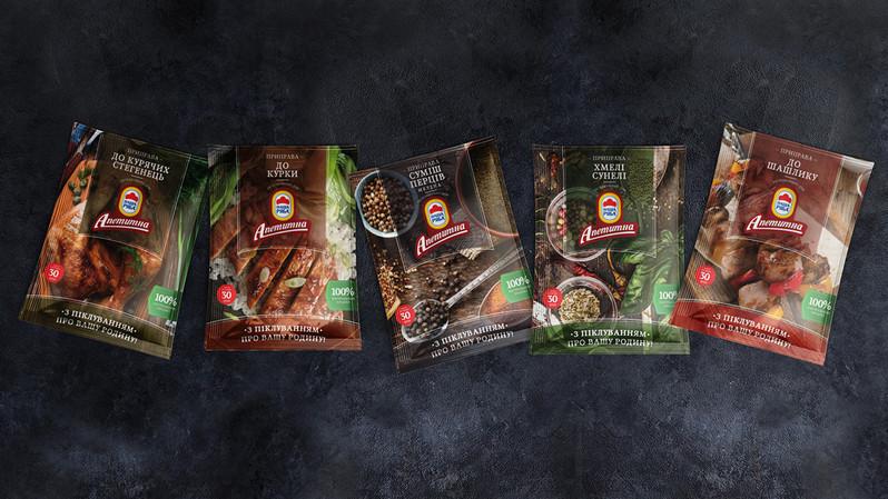 Упаковка специй для ТМ Аппетитная