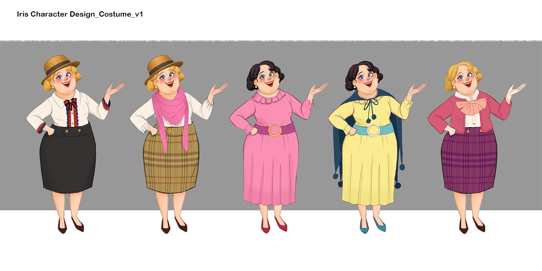 DesignIsland_Characters_Iris_variations.