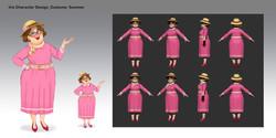 DesignIsland_Characters_Irsi_Summer