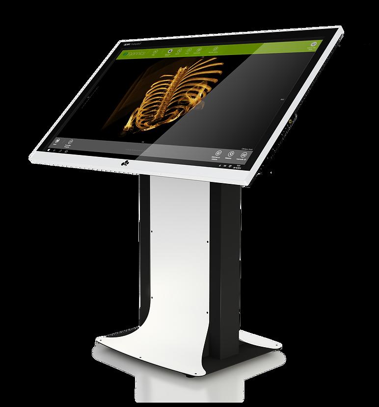 Maxpad Ergonomics - Touchscreen DICOM, Medical, radiologic e radiologia