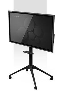 Touchspace with Spiderwheel stand