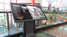 Apek shows off its new Trackmall Interactive Wayfinding Solution