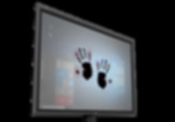 Apek Touchspace with Baanto ShadowSense