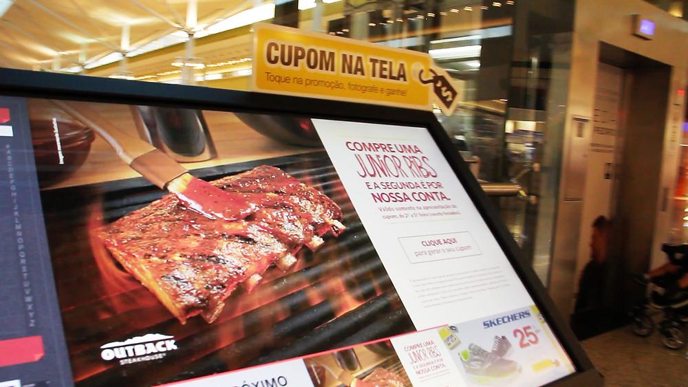 Cupom na Tela - Parque Dom Pedro Shopping
