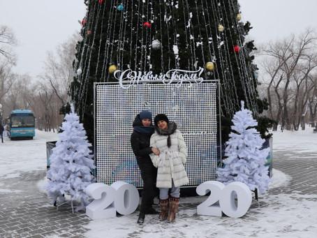 """""""Самый лучший новый год"""" сквер """"Комсомольский"""""""