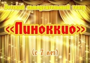 """Детский самодеятельный театр """"Пиноккио"""""""