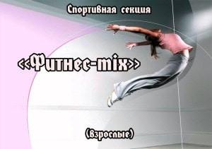 "Спортивная секция ""Фитнес-mix"""