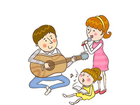 """Творческий конкурс """"Музыкальная семья"""""""