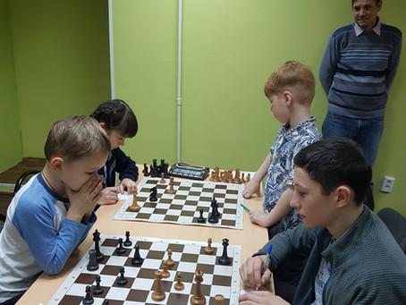 Шахматный турнир на осенних каникулах