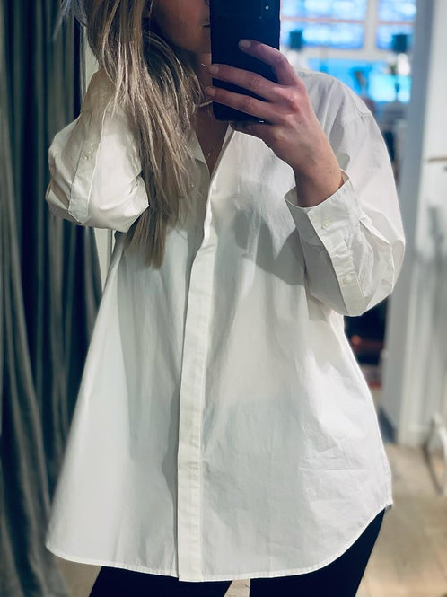 Olivia Shirt Compact Poplin - oversized fit
