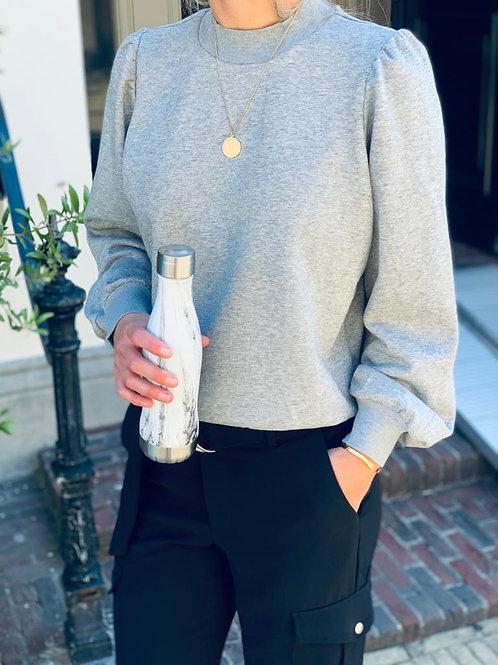 Puff Sleeve Sweatshirt 97018