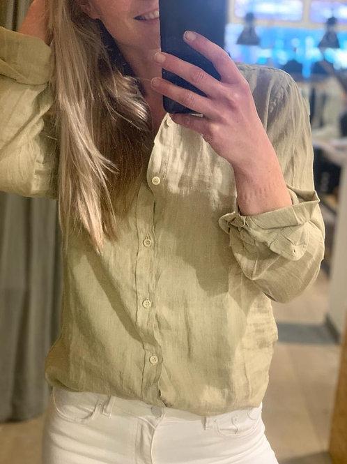 Lucas Light linen Olive Grey