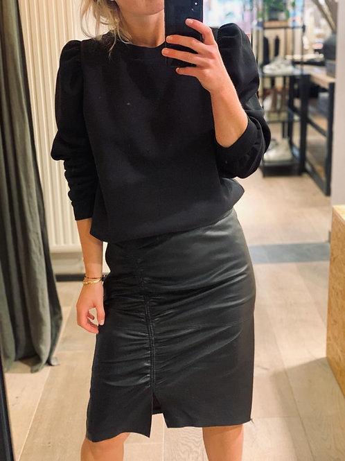 Harvie Leather Skirt 94153