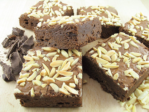 Chrunchy Almond Brownie ca. 80gr