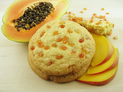Vegan Mango Papaya Cookie ca. 75gr