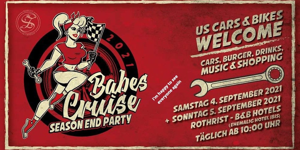 2nd Babes Cruise - Season End Party - US Cars & Bikes Welcome (1)