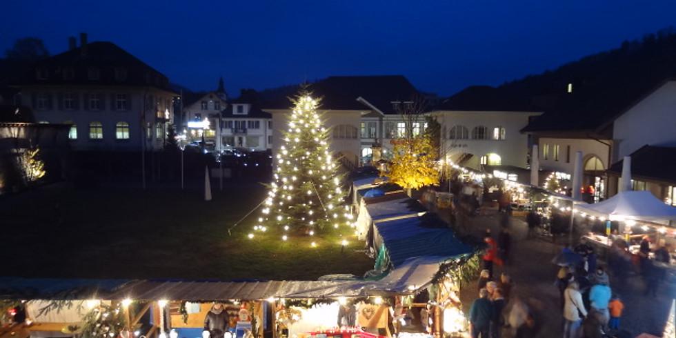 Weihnachtsmarkt 2021im Schlosspark/Schlosshof Schöftland