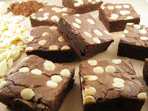 White Chocolate Chip Brownie