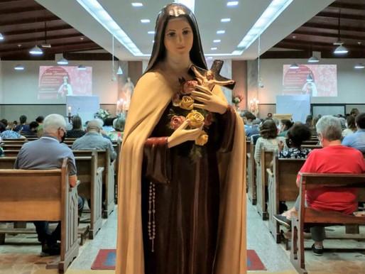 Santa Teresinha é celebrada nas paróquias da Arquidiocese JF