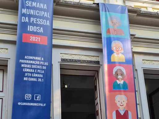 Semana Municipal do Idoso 2021 começa no domingo (9), em Juiz de Fora, de forma remota