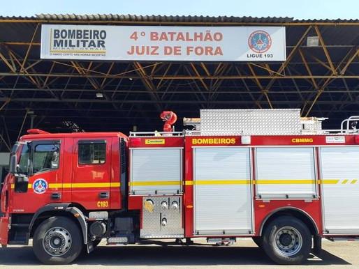 Corpo de Bombeiros alerta sobre golpe envolvendo a corporação em Juiz de Fora
