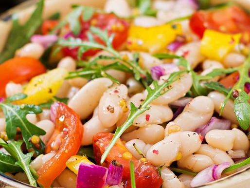 Salada de Feijão Branco com Tomate