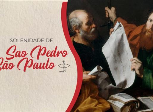 Comissão de Liturgia disponibiliza roteiro para celebrar em família festa de São Pedro e São Paulo