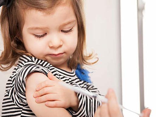 Campanha de imunização contra poliomielite e sarampo é prorrogada